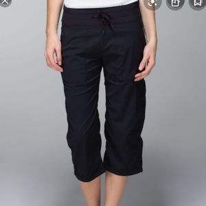 Lululemon Dance Studio Crop Pants black